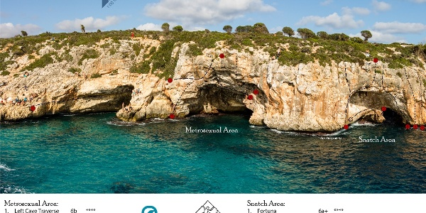 Cala Barques Topo DWS auf Mallorca