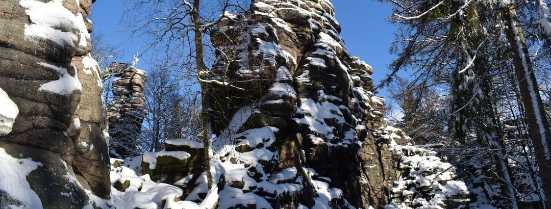 Greifensteine im Winter