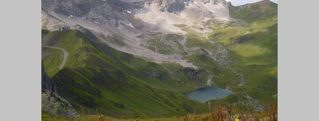 Parpaner Weißhorn und Hörnlihütte