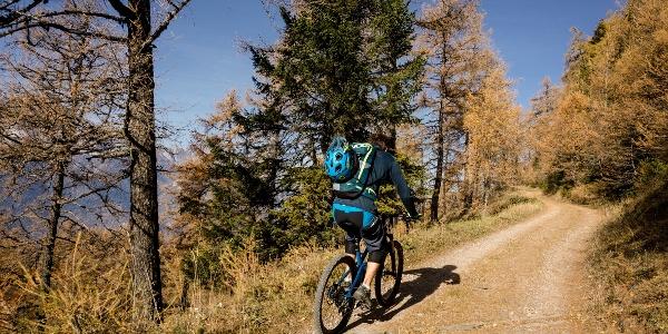 Mountainbike La Tzoumaz