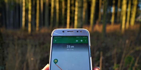 Follow the GPS!