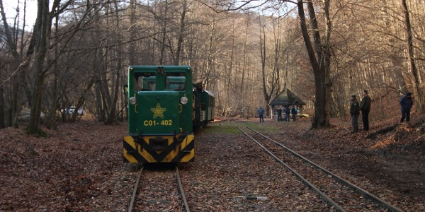 Pálházi Erdei Vasút (Rostalló állomás)