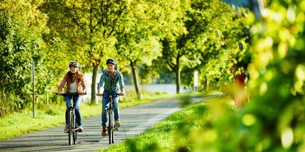 Radwandern auf dem Mosel-Radweg