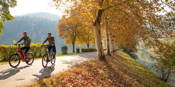 Radfahren entlang der Feistritz: Stopp Stubenbergsee