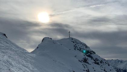Kurz vorm Gipfel