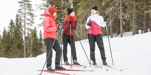 Cross-country skiing in Ukkohalla