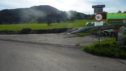 Auffahrt zum Herndleck ab Ternberg