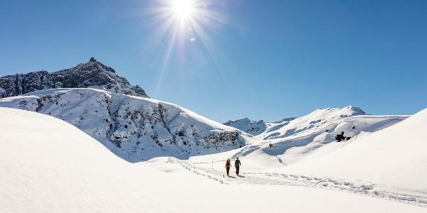 Winterwanderweg Glaserrunde