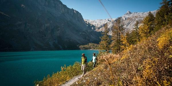 Randonnée autour du lac de Tseuzier