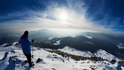Alone in the mountains in Maramures County