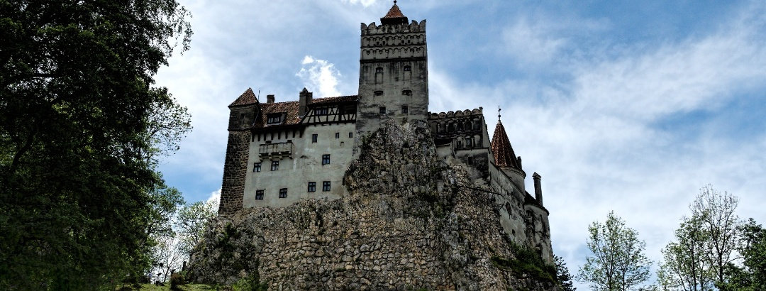 "Bran Castle, commonly referred to as ""Dracula's Castle"""