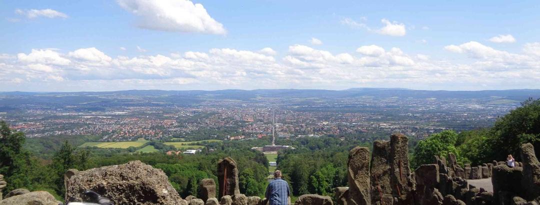 Blick auf Kassel (Juni 2019)