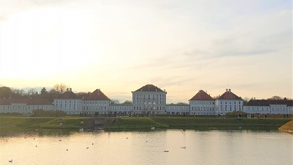 Nymphenburg Palace from afar