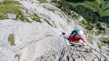 Klettersteig Fürenwand
