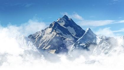 Der Großglockner, höchster Berg Österreichs