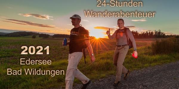 24-Stunden Wanderabenteuer Edersee 2021