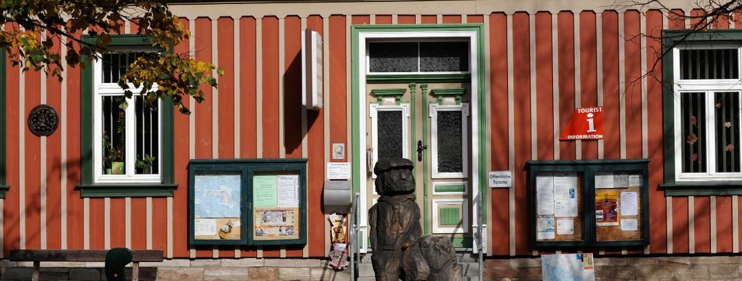Das Museum befindet sich im Haus des Gastes