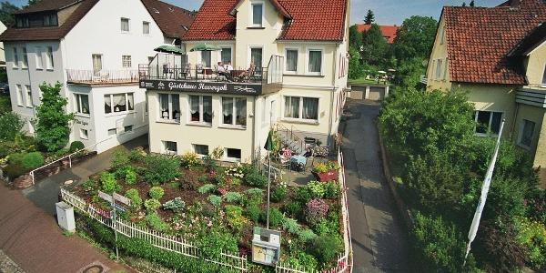 Aussenansicht vom Gästehaus Havergoh, Horn-Bad Meinberg