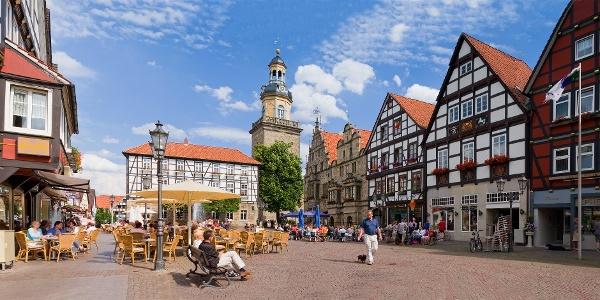 Historischer Marktplatz Rinteln