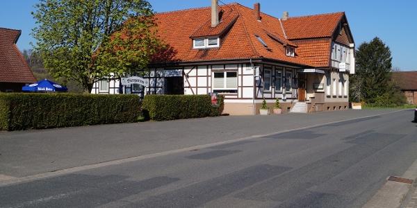 """Das Hotel/Landgasthaus """"Zum braunen Hirsch"""" in Alfeld - Röllinghausen"""