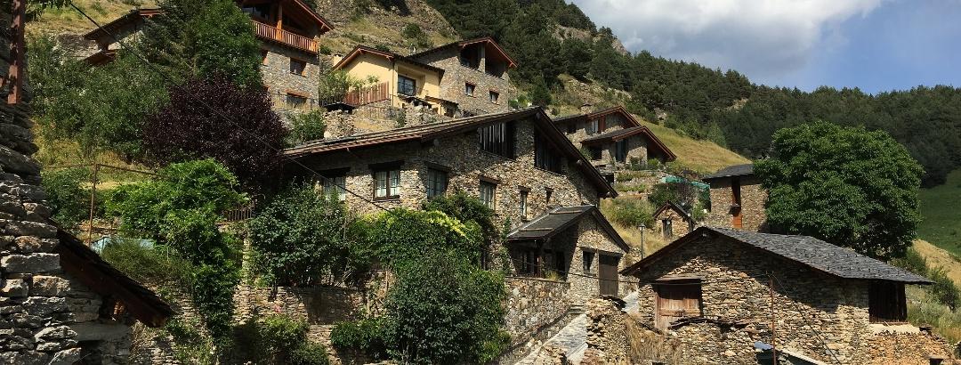 Mountain village in Andorra