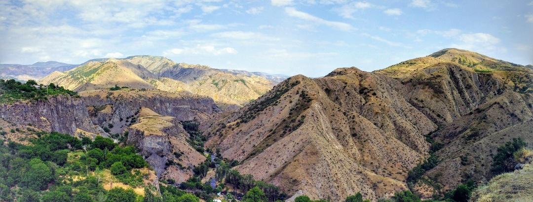 Горный ландшафт Армении