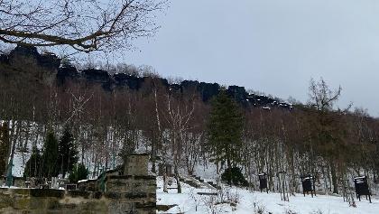 Tisa im Winter