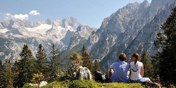 Herrliche Aussichten in die Region Dachstein