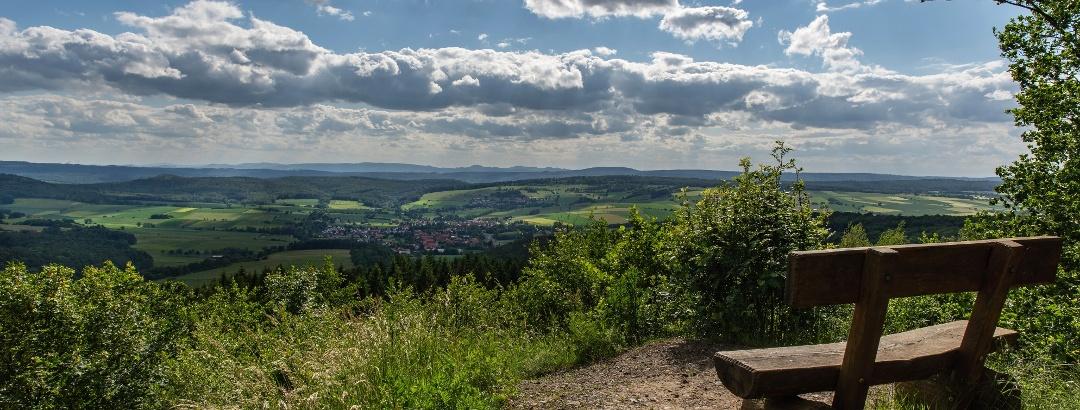 Hoher Hagen - Blick ins Weserbergland
