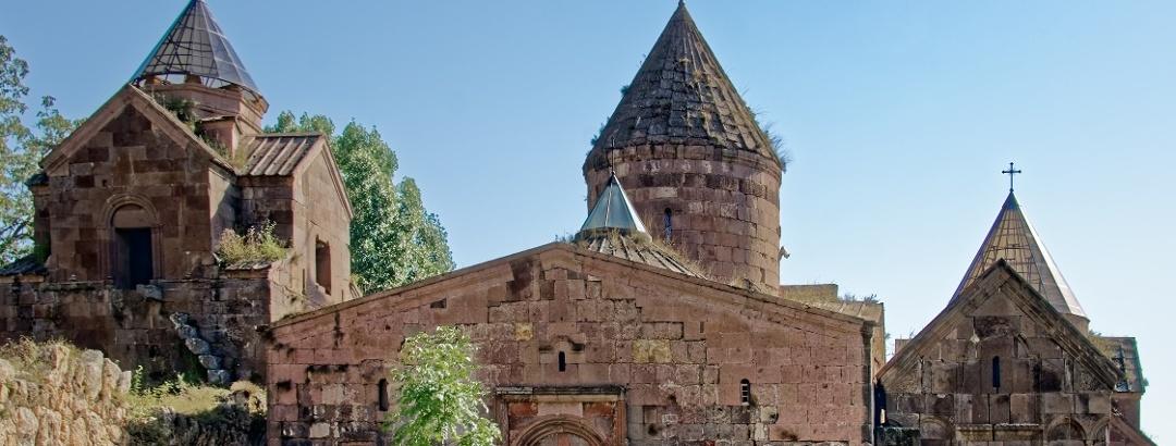 Goshavank monastery in Armenia
