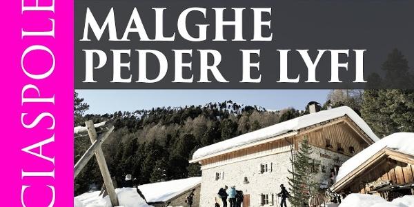 Passeggiata con le ciaspole alla malghe Peder-Stier e Lyfi – Val Martello