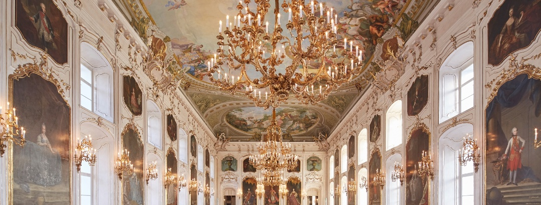 Giants Hall in the Hofburg Innsbruck