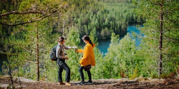 Etelä-Konneveden kansallispuisto. Southern Konnevesi National Park.