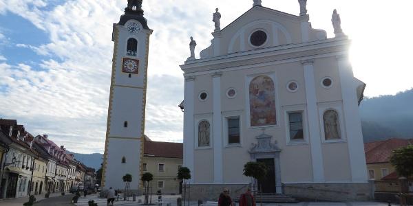 Stadtpfarrkirche Sv. Marijinega Kamnik
