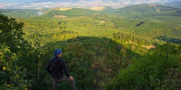 Panoráma a Zagyva-völgy irányába