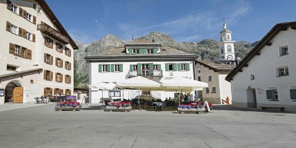 Dorfplatz von Sils