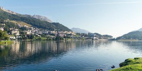St. Moritz and Lake St. Moritz