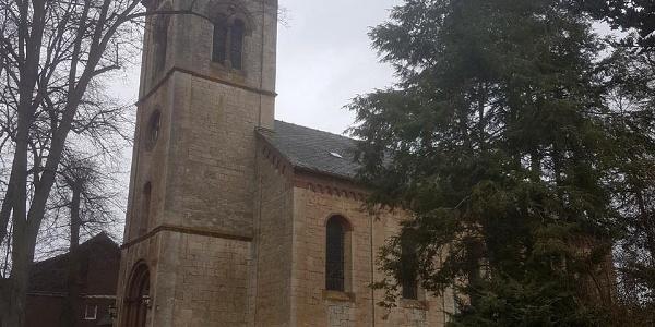die Kirche von Kirchlotheim