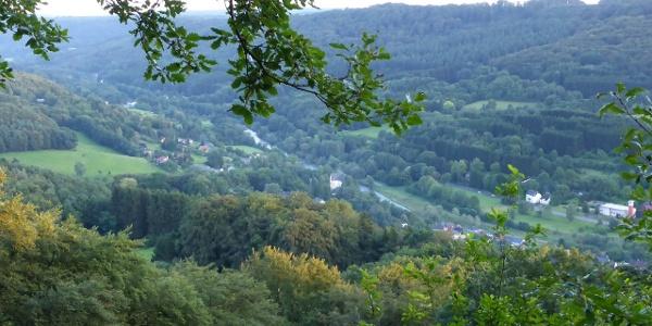 Blick über das Sauertal bei Bollendorf von der Ossenlay