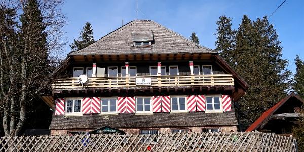 Darmstädter Hütte.