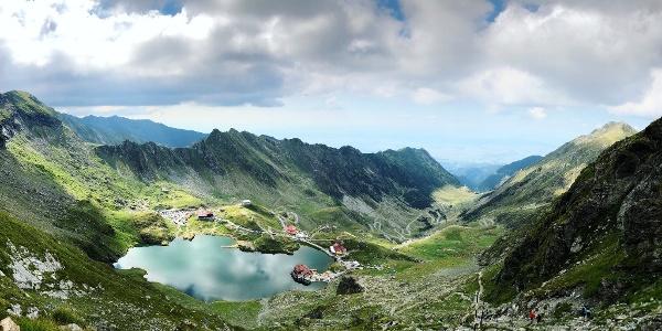 Panoramic View of Bâlea Lake
