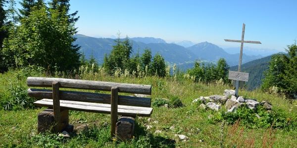Gipfelkreuz am Friesling