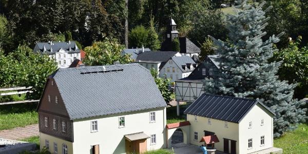 "Miniaturschauanlage ""Mini-Weißbach"" Amtsberg"