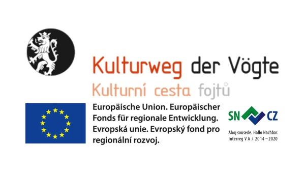 Förderlogo Kulturweg der Vögte