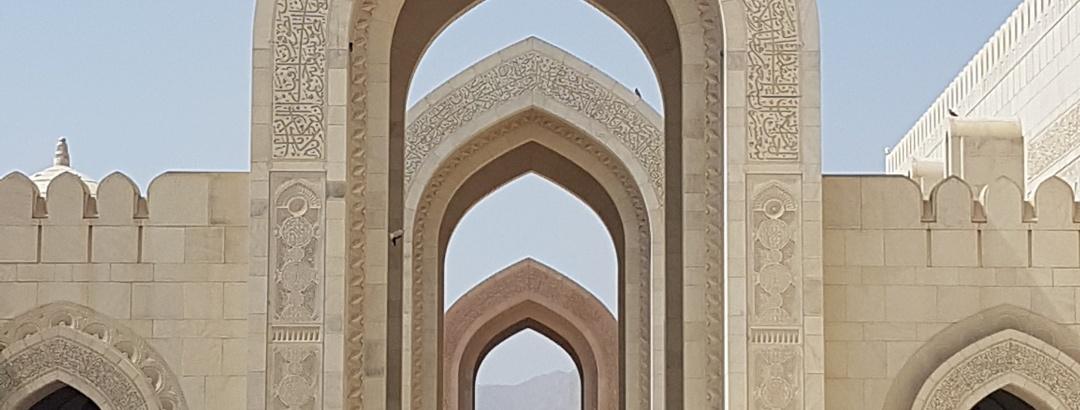 Außenbereich der Großen Moschee