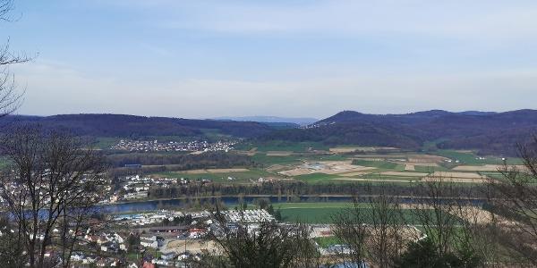 Hörnli_Aussicht auf Bad Zurzach