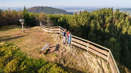 Oberschönauer Felsenwanderung, Hohe Möst, Steinbach-Hallenberg, Thüringer Wald