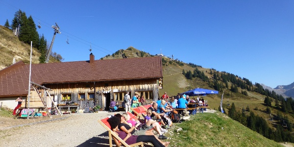 Obere Lüchlealpe im Sommer
