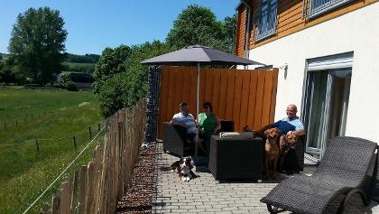 Ferienwohnung Terrasse (2)