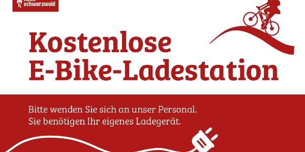 Kostenlose E-Bike Ladestation